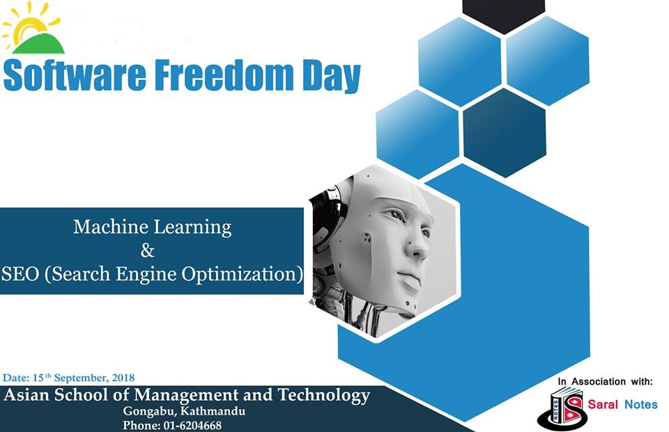 Software Freedom Day - Saral Notes